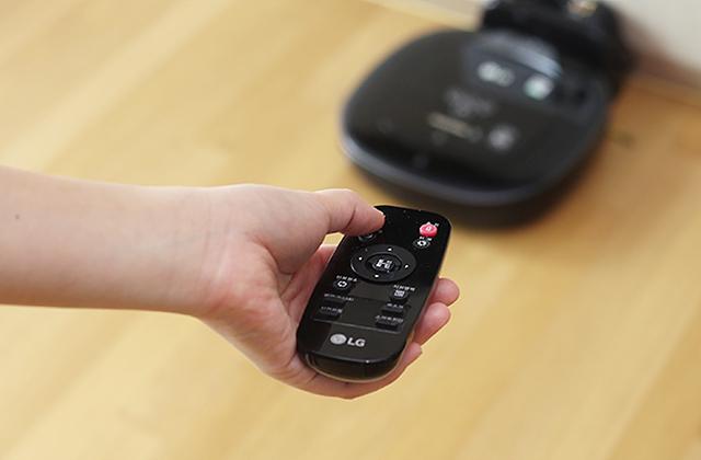 LG 로보킹 터보 플러스 리모콘 이미지