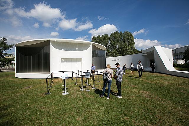 IFA 전시장 중앙 야외 정원에서는 LG 시그니처 디자인 철학을 담은 LG 시그니처 갤러리를 조성