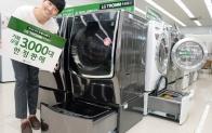 LG전자, 3천대 한정판매 100만원대 트윈워시 출시