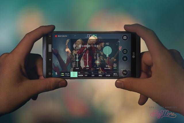 LG V20 하이파이 비디오 레코딩
