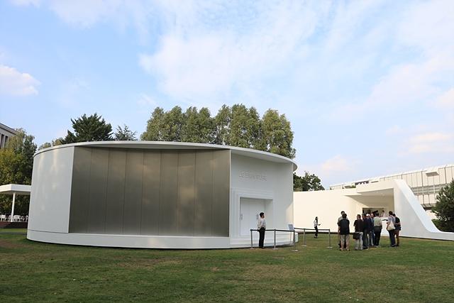 LG 시그니처 갤러리 외관의 모습입니다.