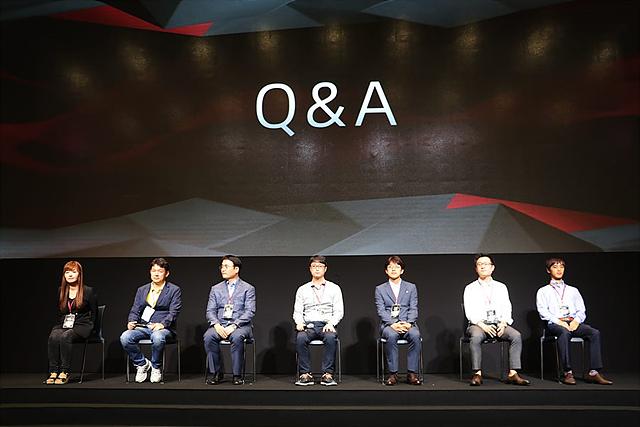 LG V20 신제품 발표회 Q&A 시간