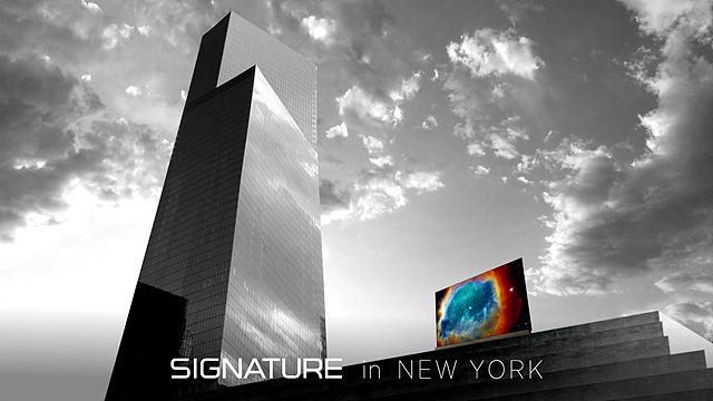 LG SIGNATURE OLED TV in New York