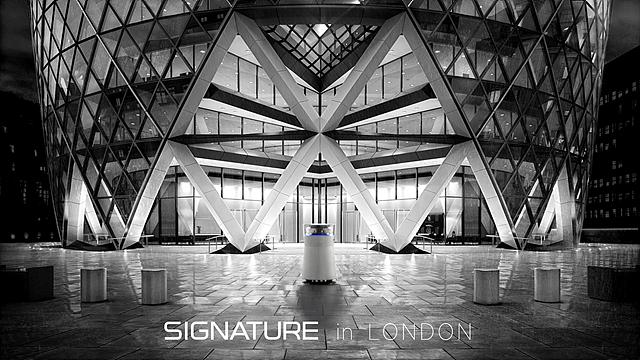 LG SIGNATURE 공기청정기 in London