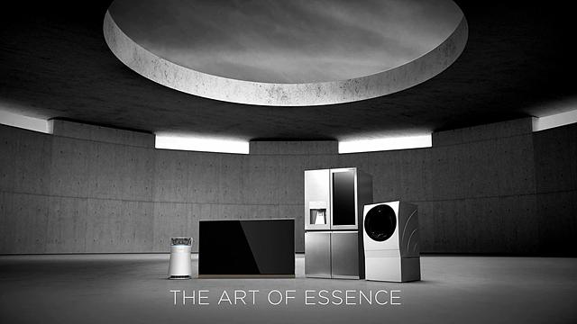 본질의 미학(The Art of Essence)에 근간을 둔 LG SIGNATURE와 메트로폴리스의 시그니처 건축물과의 만남