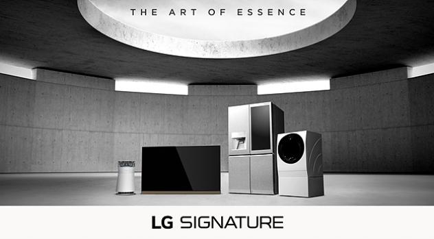 위대한 건축물과 'LG SIGNATURE'의 특별한 만남
