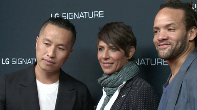 LG SIGNAUTRE 글로벌 디지털 캠페인 영상 속의 주인공이자 엠베서더 (필립 림, 도미니크 크렌, 새비온 글로버)