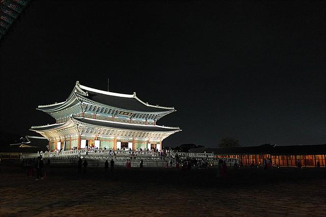 경복궁 야간개장 이미지