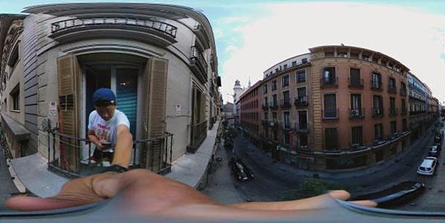 LG 360 캠으로 촬영한 스페인 마드리드의 아침 모습