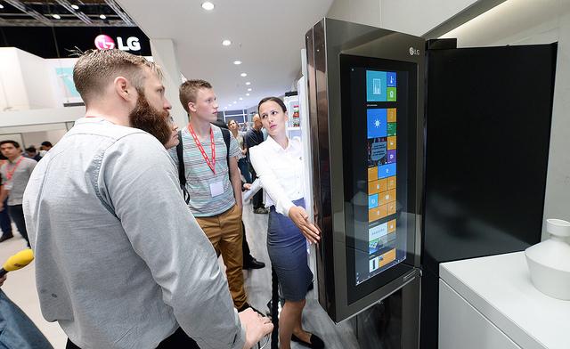 IFA 2016에서 새로운 LG 스마트 냉장고