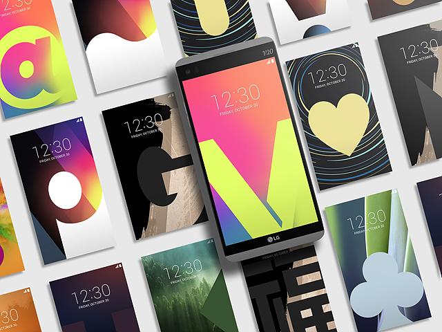 LG V20 시그니처 월페이퍼