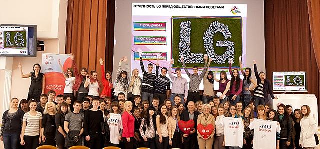 카잔(Kazan) 대학에서 CSR 강의를 진행한 모습