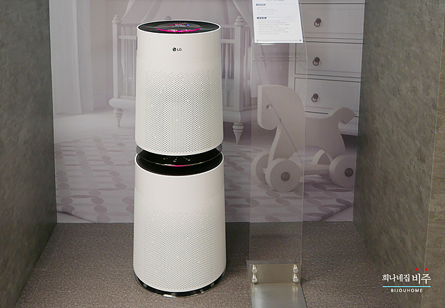 LG 퓨리케어 공기청정기 신제품 모습
