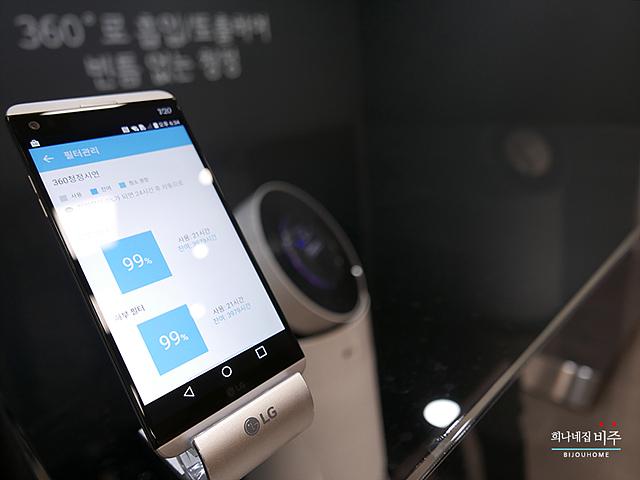 LG 스마트씽큐로 관리 가능한 LG 퓨리케어 공기청정기