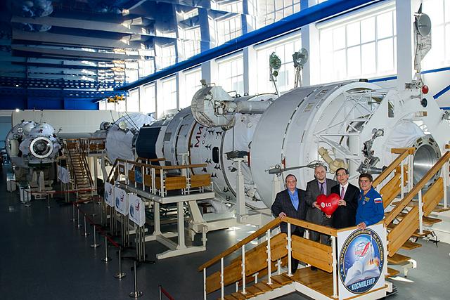 LG와 러시아 우주센터의 파트너십 체결