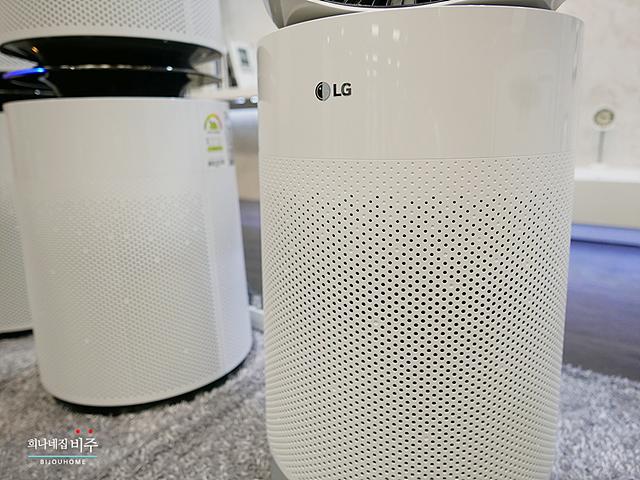 LG 퓨리케어 공기청정기 신제품의 모습
