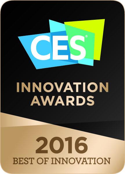 CES 2016 최고 혁신상 로고