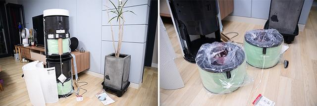 'LG 퓨리케어 360° 공기청정기' 설치 과정
