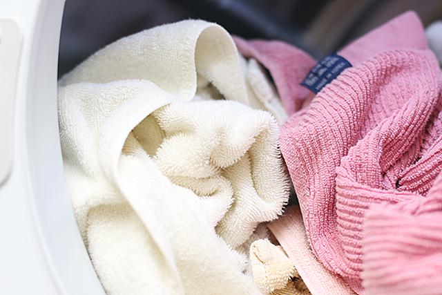 LG 트롬 건조기를 통해 건조된 세탁물