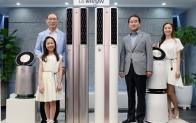 인공지능 'LG 휘센 듀얼 에어컨' 필요한 곳 찾아 스스로 냉방한다