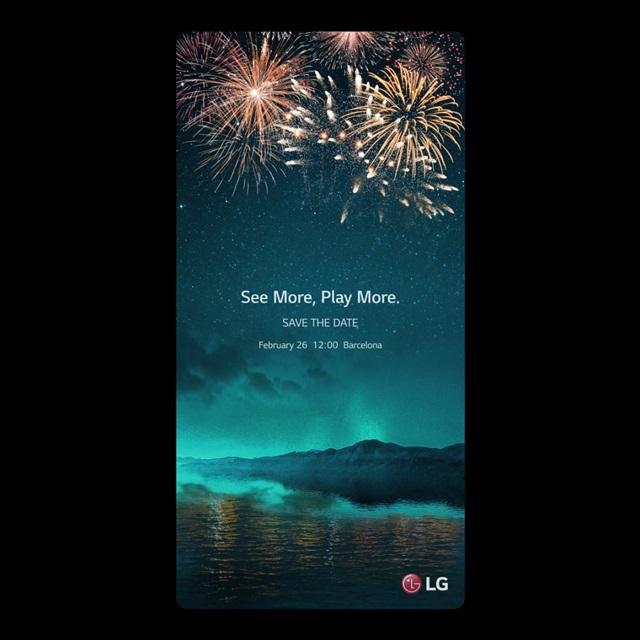 LG전자가 19일 세계 각국 기자들을 대상으로 스마트폰 신제품 공개행사 초청장(Save the date, 그날을 비워 두세요)을 발송했다. 초청장을 18:9 비율로 제작해 차기 전략 스마트폰이 18:9 화면비로 편리하게 즐길 수 있는 다양한 사용자 경험(UX)을 담았다는 점을 강조했다. LG전자는 2월 26일 낮 12시(현지시각) 스페인 바르셀로나에서 전략 스마트폰 신제품 공개행사를 진행한다.