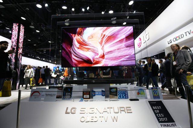 LG 시그니처 올레드TV W CES 최고상 수상