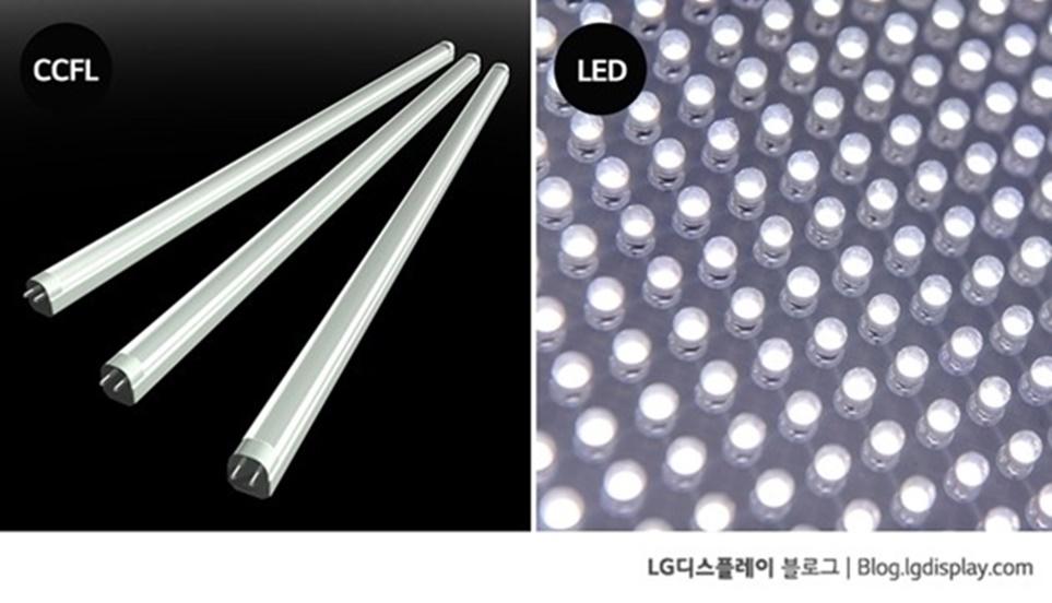 CCFL과 LED 비교