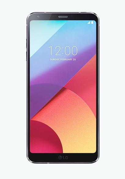 LG G6 정면 컷