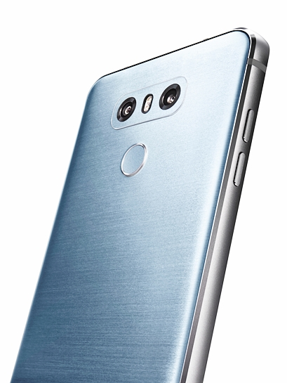 LG G6 Ice Platinum 후면