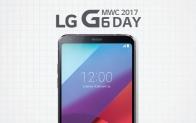 MWC 2017 'LG G6 Day' 생중계 예고