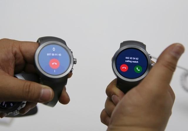 LG 워치 스포츠의 통화 기능