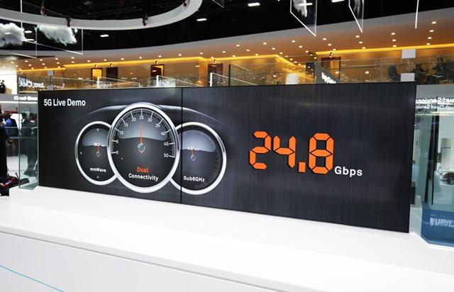 압도적인 속도의 5G