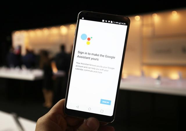 구글 어시스턴트 탑재한 'LG G6'
