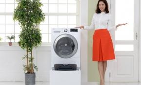 LG전자가 23일 세탁실 면적이 좁아도 설치할 수 있는