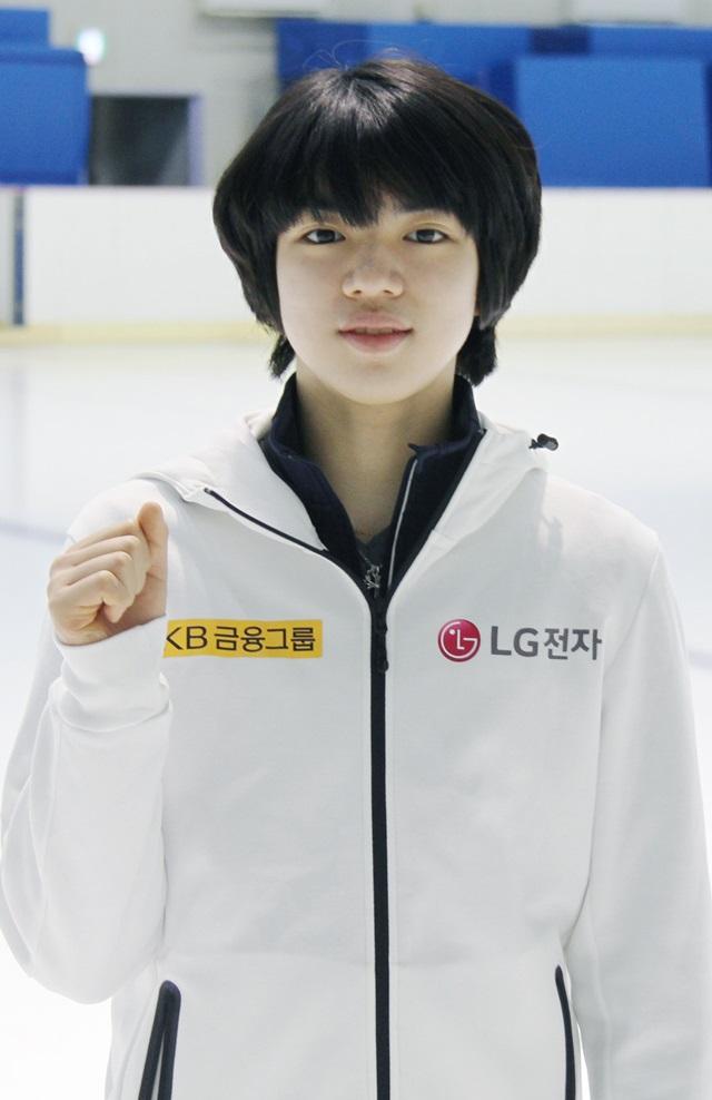 ]LG전자가 올해부터 2년간 공식 후원하는 남자 피겨 최고 기대주인 차준환 선수.