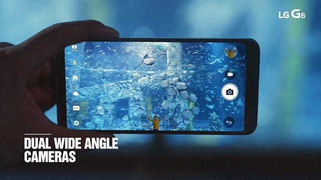 듀얼 광각 카메라 탑재한 'LG G6'
