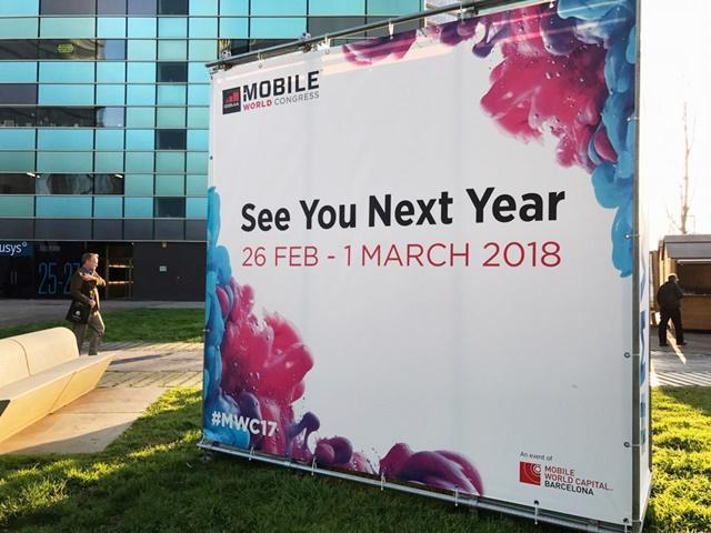 내년에 열릴 'MWC 2018' 일정 정보