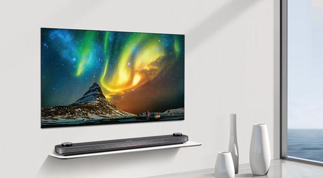 'LG 시그니처 올레드 TV W' 모습