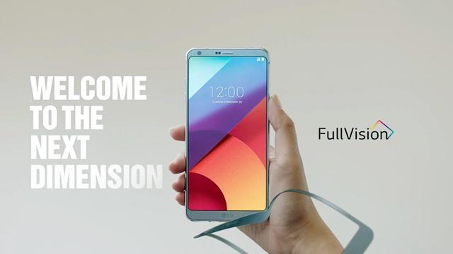 18:9 풀비전 디스플레이 탑재한 'LG G6