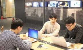 LG전자 한국영업본부 직원들이 서울 중구 후암동에 있는