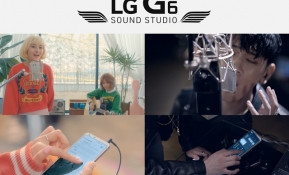 LG전자는 11일 어쿠스틱 밴드 '볼빨간 사춘기'와 힙합 아티스트 '크러쉬'가 'LG G6'에 탑재된 고성능 오디오 기술을 사용해 만든 상반된 장르의 음원 2종을 'LG G6 사운드 스튜디오'에 공개했다. '볼빨간 사춘기'와 '크러쉬'는 'LG G6'의 '하이파이 레코딩'과 '스튜디오 모드' 기능으로 직접 목소리를 입혀 음원을 완성했다. LG전자는 음원 제작 과정을 담은 두 편의 뮤직비디오도 공개했다. 이달 24일까지 고객들이 이를 감상하고 추천 및 감상평을 남기면 추첨을 통해 'LG G6', 'LG 워치 스타일' 등 다양한 경품을 증정한다.
