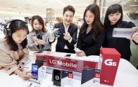 프리미엄 스마트폰 LG G6, 백화점에서도 체험해 보세요!
