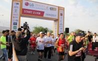 LG전자 후원 사해(死海)마라톤, 8,600명이 달렸다