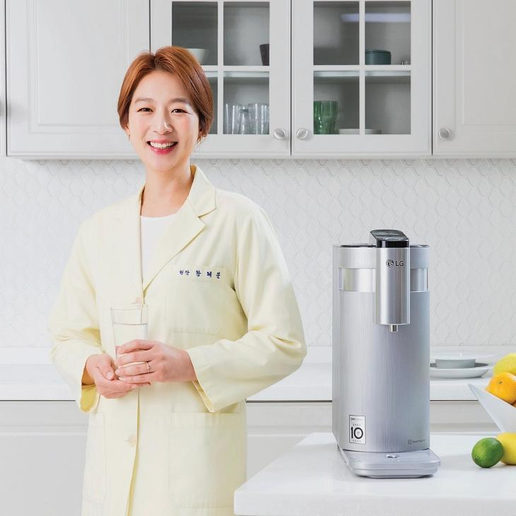 왕혜문 한의사의 꼼꼼한 선택, LG 퓨리케어 정수기