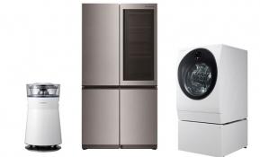 구글의 인공지능 스피커 '구글 홈'에 연동하는 'LG 시그니처' 냉장고•세탁기•가습공기청정기