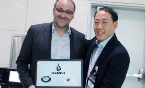 LG전자가 IVI(In Vehicle Infotainment, 오디오∙비디오∙네비게이션 등 차량 내장용 인포테인먼트 기기) 분야 SW플랫폼 표준단체 '제니비 연합(GENIVI Alliance)'의 부회장사 지위에 올랐다. 사진은