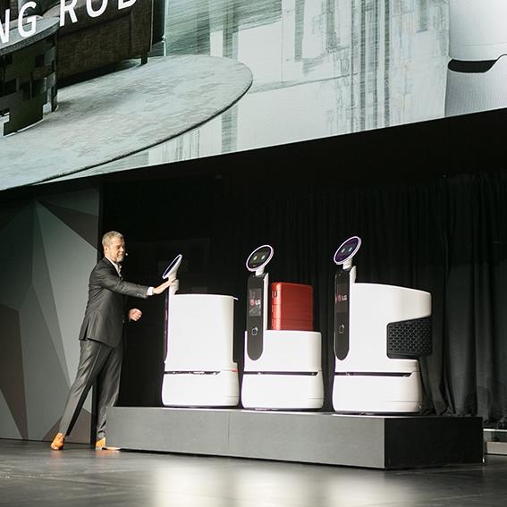 'LG 씽큐'가 만드는 미래는? 'CES 2018' LG 프레스 컨퍼런스 현장