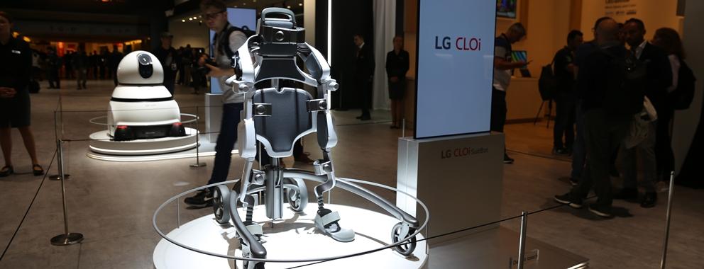 '더 나은 삶'으로 이끄는 'LG 클로이' 로봇
