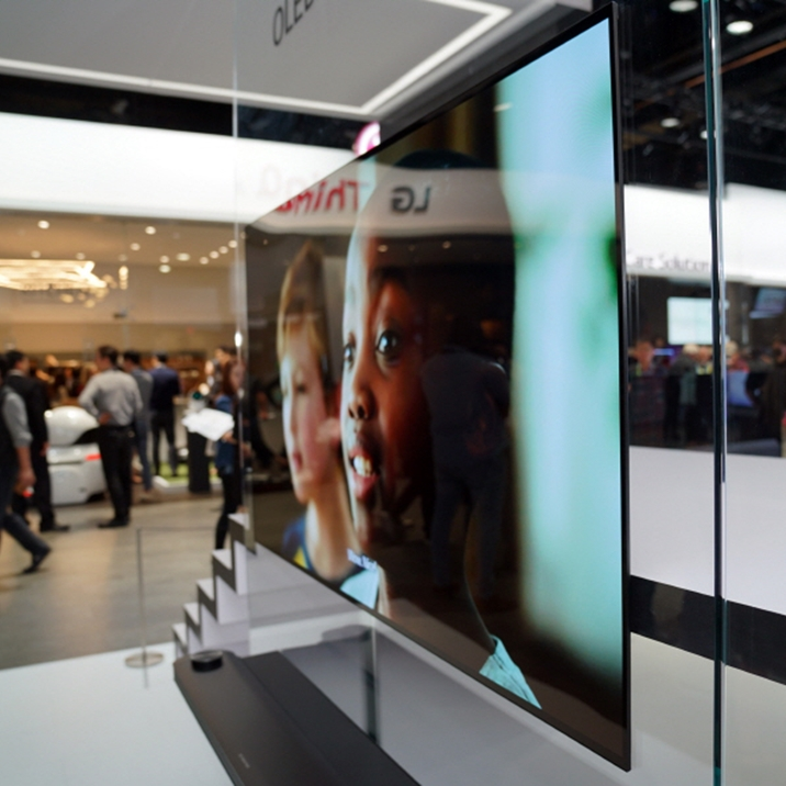 'CES 2018'을 뜨겁게 달군 'LG 올레드 TV'
