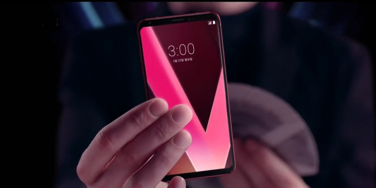 POINT ZOOM Zoom in anywhere on the screen LG V30